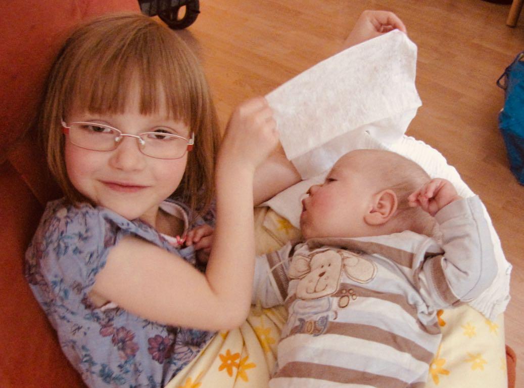 Klara und Josef im Kinderhospiz